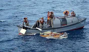 Air France uçağında 17 ceset bulundu