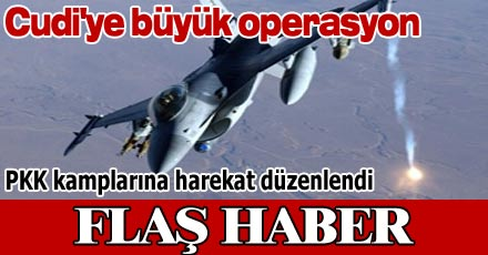 PKK KAMPLARINA HAREKAT DÜZENLENDİ
