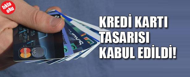 KREDİ KARTI TASARISI KABUL EDİLDİ!