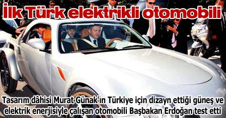 İlk Türk elektrikli otomobili