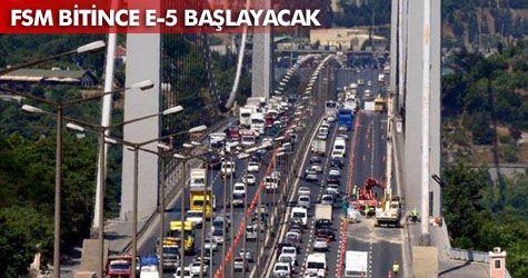 İstanbulluların trafik çilesi sürecek