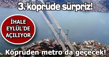 3. köprüde sürpriz!