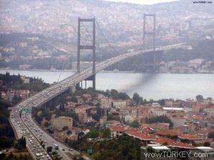 Boğaz köprülerinde kilometrelerce sıra