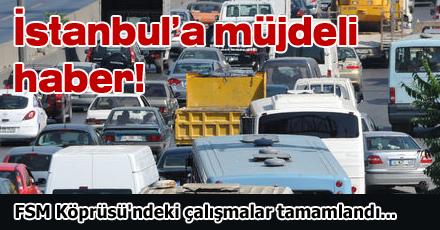 Trafik çilesi bitti