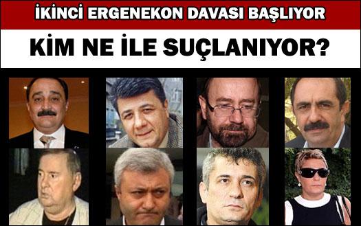 İkinci Ergenekon davası başlıyor