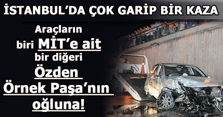 İstanbul'da çok garip bir kaza