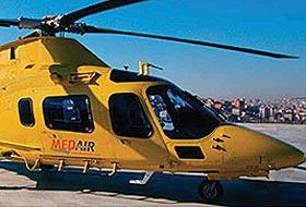 Helikopterler İstanbullular'ın hizmetinde