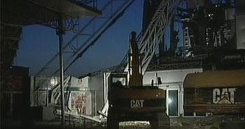 İstanbul Gösteri Merkezi yıkıldı