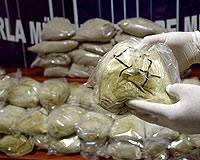 123 kilo uyuşturucu yakalandı