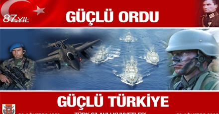 ''Güçlü Ordu, Güçlü Türkiye''