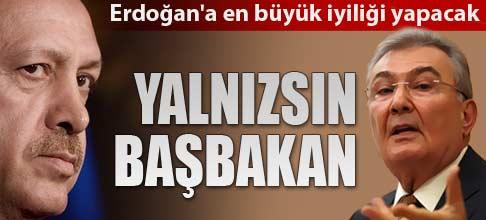 Erdoğan'a en büyük iyiliği Baykal yapacak