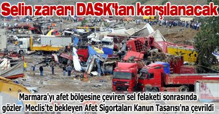 Selin zararı DASK'tan karşılanacak