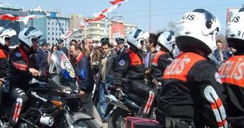 Çapkın'dan her okula bir polis