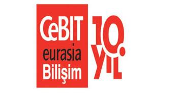 CeBIT Eurasia Bilişim Fuarı'nı kaçırmayın.