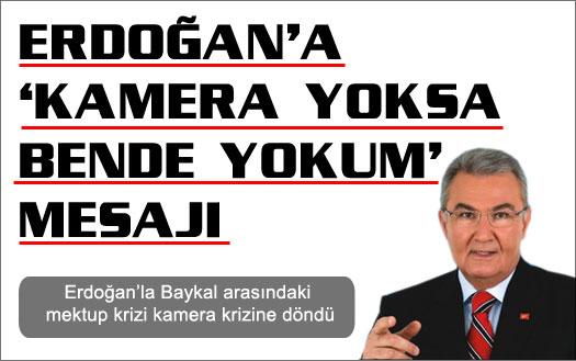 Baykal'dan Erdoğan'a ret
