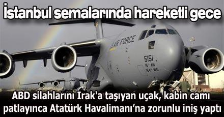 Atatürk Havalimanı'nda hareketli gece