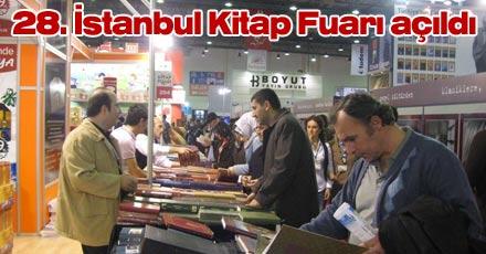 28. İstanbul Kitap Fuarı açıldı