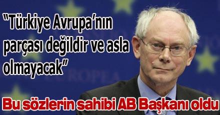 AB'ye Türkiye karşıtı başkan