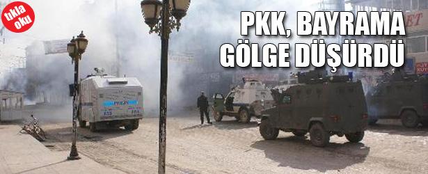 PKK BAYRAMA GÖLGE DÜŞÜRDÜ