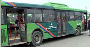 İETT otobüsünde sivil polis