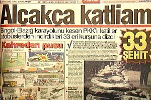 '33 şehit' dosyası Ergenekon'a girdi