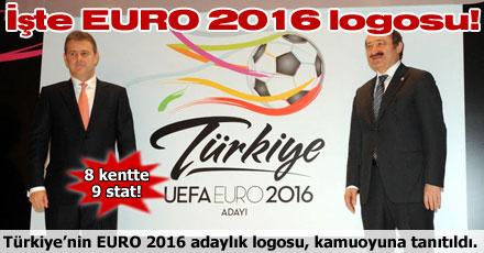 İşte EURO 2016 logosu!