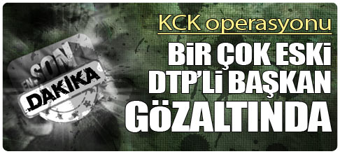 KCK OPERASYONU