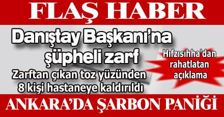 Ankara'da şarbon paniği