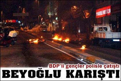 BDP etkinliğinde gerginlik