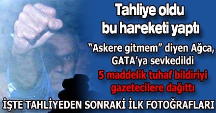 Mehmet Ali Ağca serbest