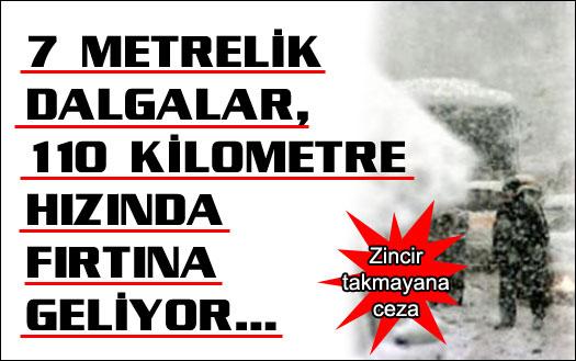 Kabus İstanbul'u vuracak