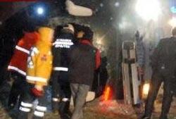 Fırtına otobüs devirdi: 1 bebek öldü