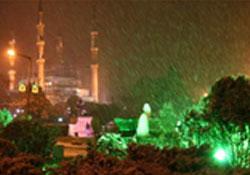İstanbul'a 3 gün boyunca kar yağacak