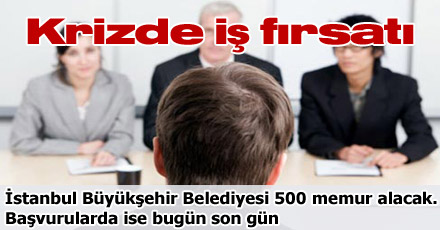 Krizde iş fırsatı