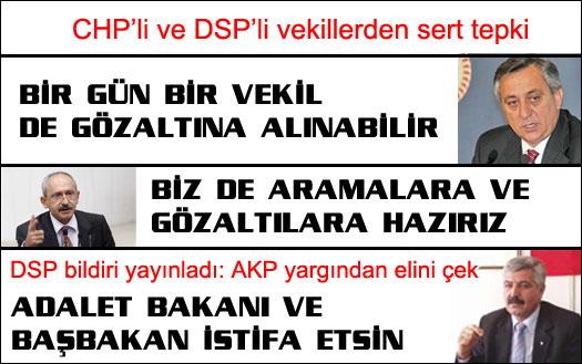 CHP'den sert açıklamalar