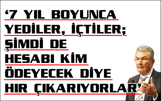 Baykal'dan AKP'ye ilginç benzetme