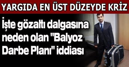 """""""Balyoz Darbe Planı"""" iddiası"""