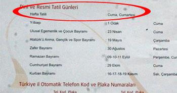AKP'li başkan 'Cuma'yı resmen tatil ilan etti