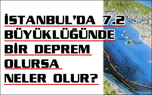 İstanbul depremi 7.2 olursa ne olur?
