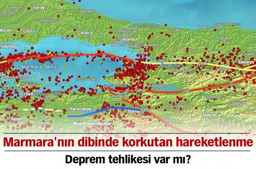 Marmara'nın dibinde korkutan hareketlenme