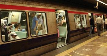 Metroda aktarmasız seferler başladı
