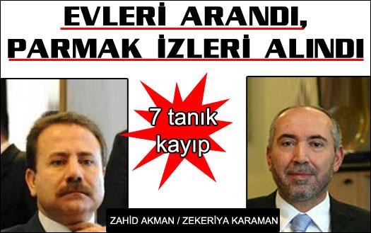 Zahid Akman sorguda sustu!