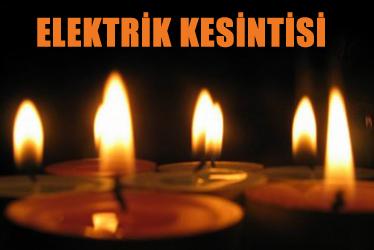 İstanbul'da 5 günlük elektrik kesintisi