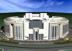 Adalet Sarayı Aralık 2010'da hizmete giriyor