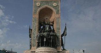 Taksim Anıtı böyle oldu