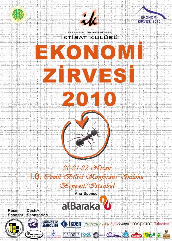 Ekonomi Zirvesi 2010 Başlıyor