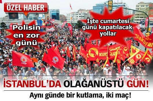 İstanbul'da olağanüstü gün
