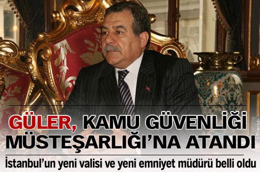 İstanbul'un valisi ve emniyet müdürü değişti