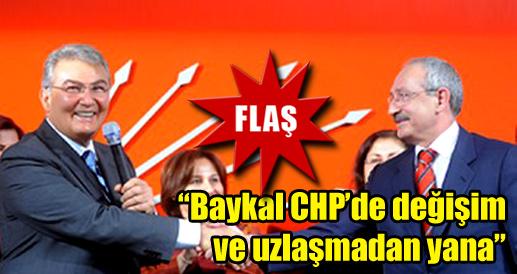 Kılıçdaroğlu:Baykal değişimden yana