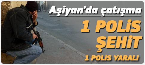 İstanbul'da çatışma: 1 polis şehit